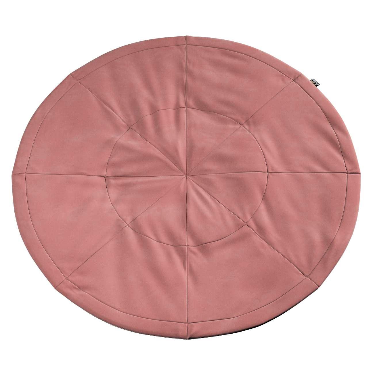 Apvalus kilimėlis kolekcijoje Posh Velvet, audinys: 704-30