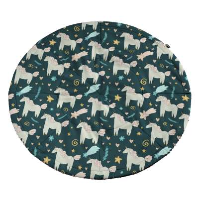 Round mat 500-43 dark blue Collection Magic Collection