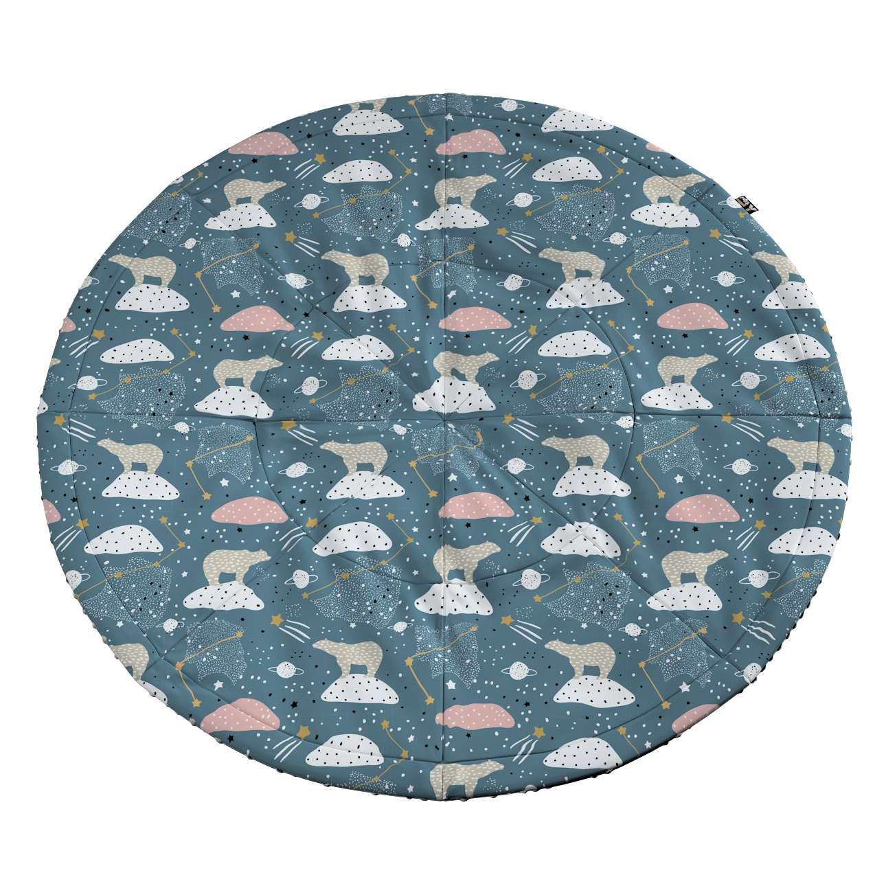 Round mat in collection Magic Collection, fabric: 500-45