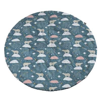 Mata okrągła 500-45 niebieski Kolekcja Magic Collection