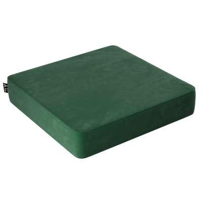 Puf Velvet Square 704-13 láhev zelená Kolekce Posh Velvet