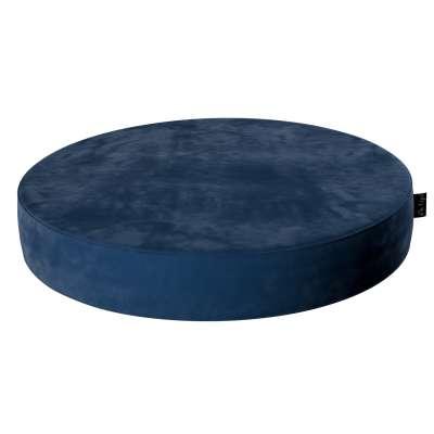 Velvet Dot pouf 704-29 navy blue Collection Posh Velvet