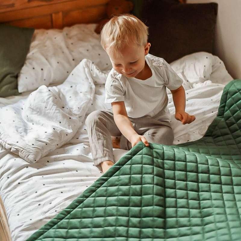 Posh Velvet bedspread in collection Posh Velvet, fabric: 704-29