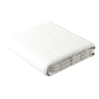 Narzuta pikowana w pasy 702-34 White (biały) Kolekcja Cotton Story