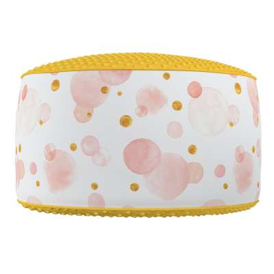 Two-coloured Coli pouf with Minky 500-13  Collection Magic Collection