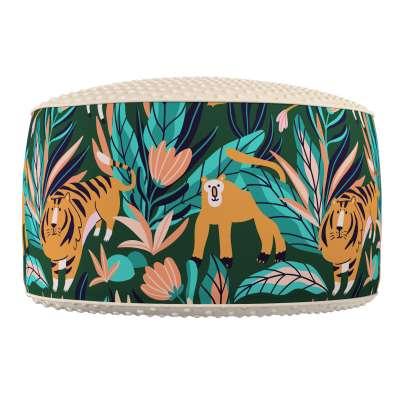 Two-coloured Coli pouf with Minky 500-42  Kolekcija Magic Collection