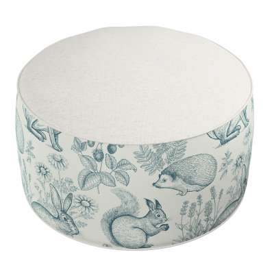 Two-coloured Coli pouf 500-04  Collection Magic Collection