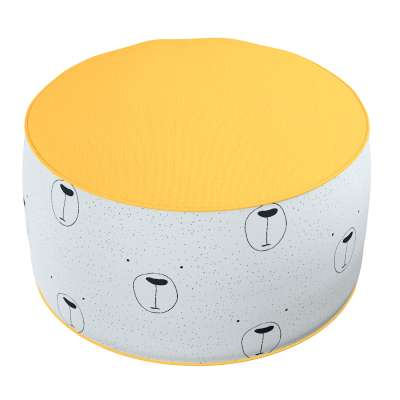 Two-coloured Coli pouf 500-06  Collection Magic Collection