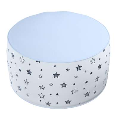 Two-coloured Coli pouf 500-08  Collection Magic Collection