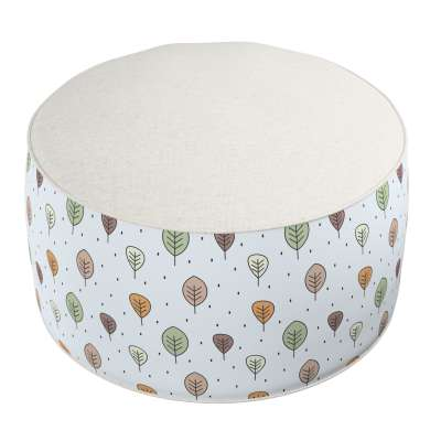 Two-coloured Coli pouf 500-09  Collection Magic Collection