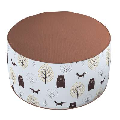 Two-coloured Coli pouf 500-19  Collection Magic Collection
