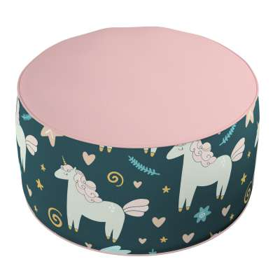 Two-coloured Coli pouf 500-43 dark blue Collection Magic Collection