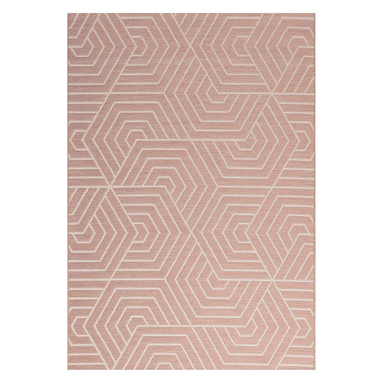 Koberec Jersey Home wool/blush rose 160x230cm