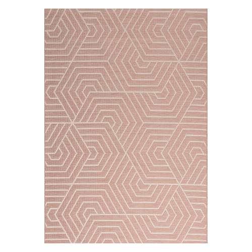 Kilimas Jersey Home wool/blush rose 160x230cm