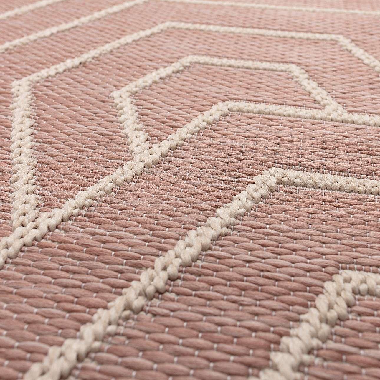 Dywan Jersey Home wool/blush rose 160x230cm