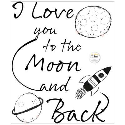 Lovely Universe sticker