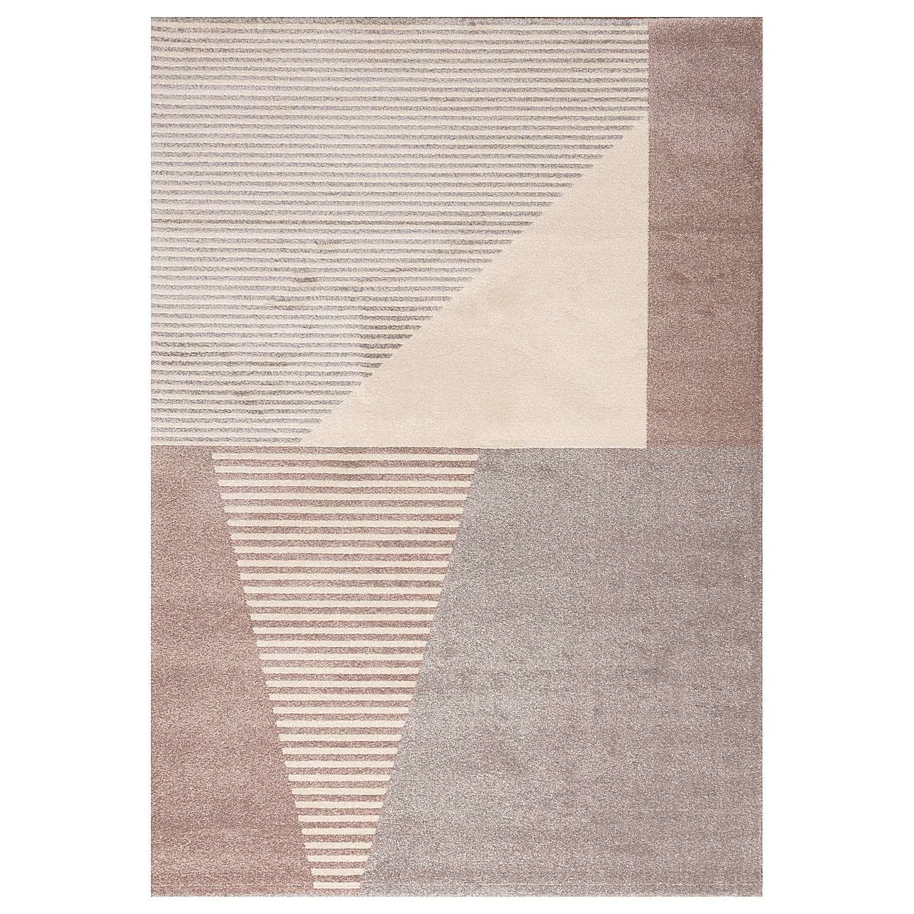 Koberec Sevilla paper white/dusty rose 160x230cm