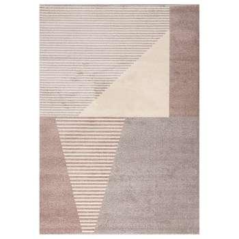Dywan Sevilla paper white/dusty rose 160x230cm