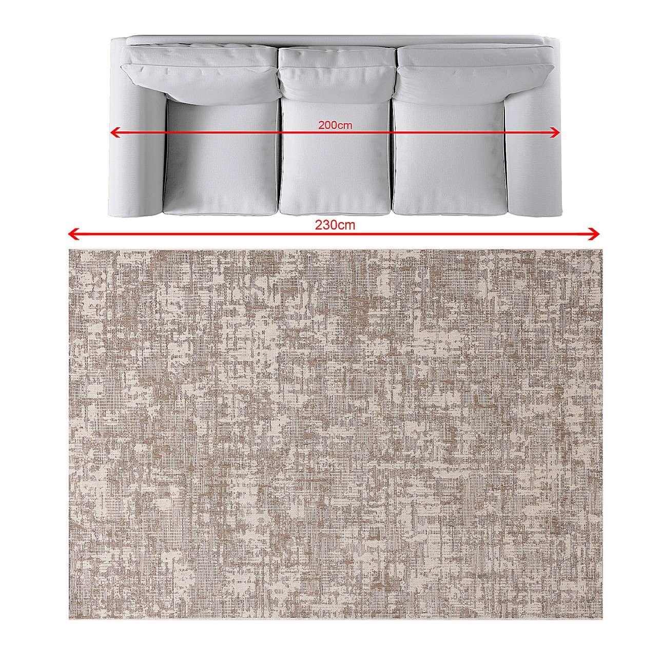 Teppich Breeze wool/cliff grey/beige 160x230cm
