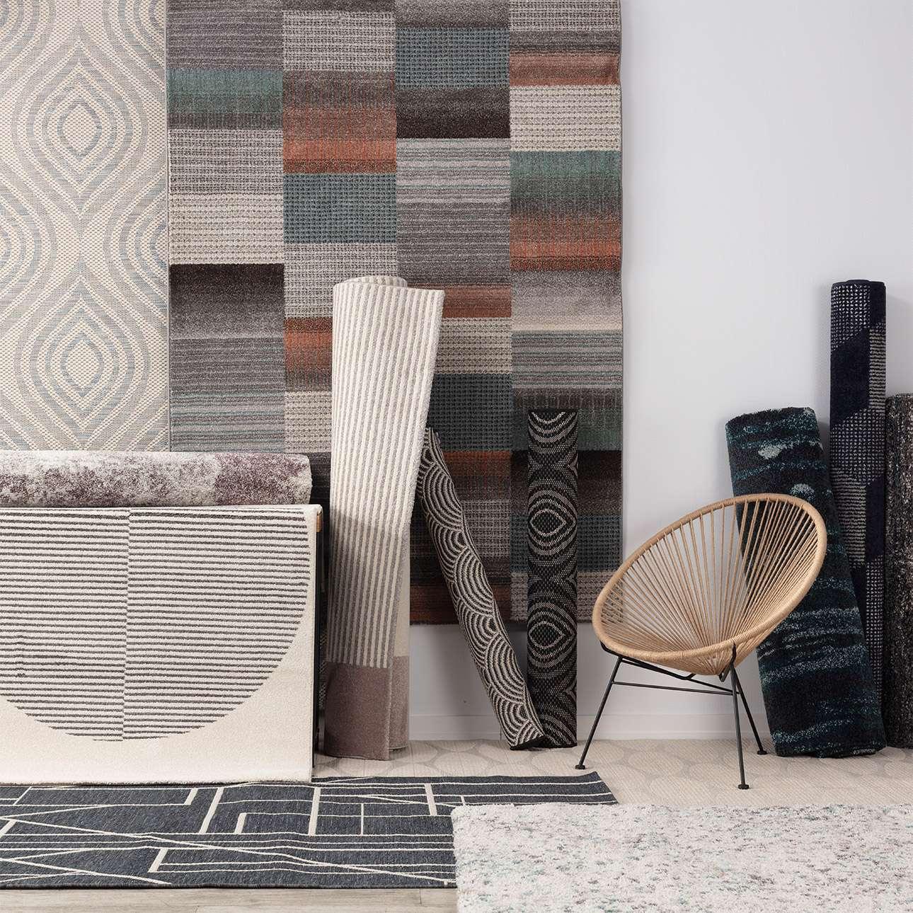 Dywan Breeze wool/cliff grey 160x230cm