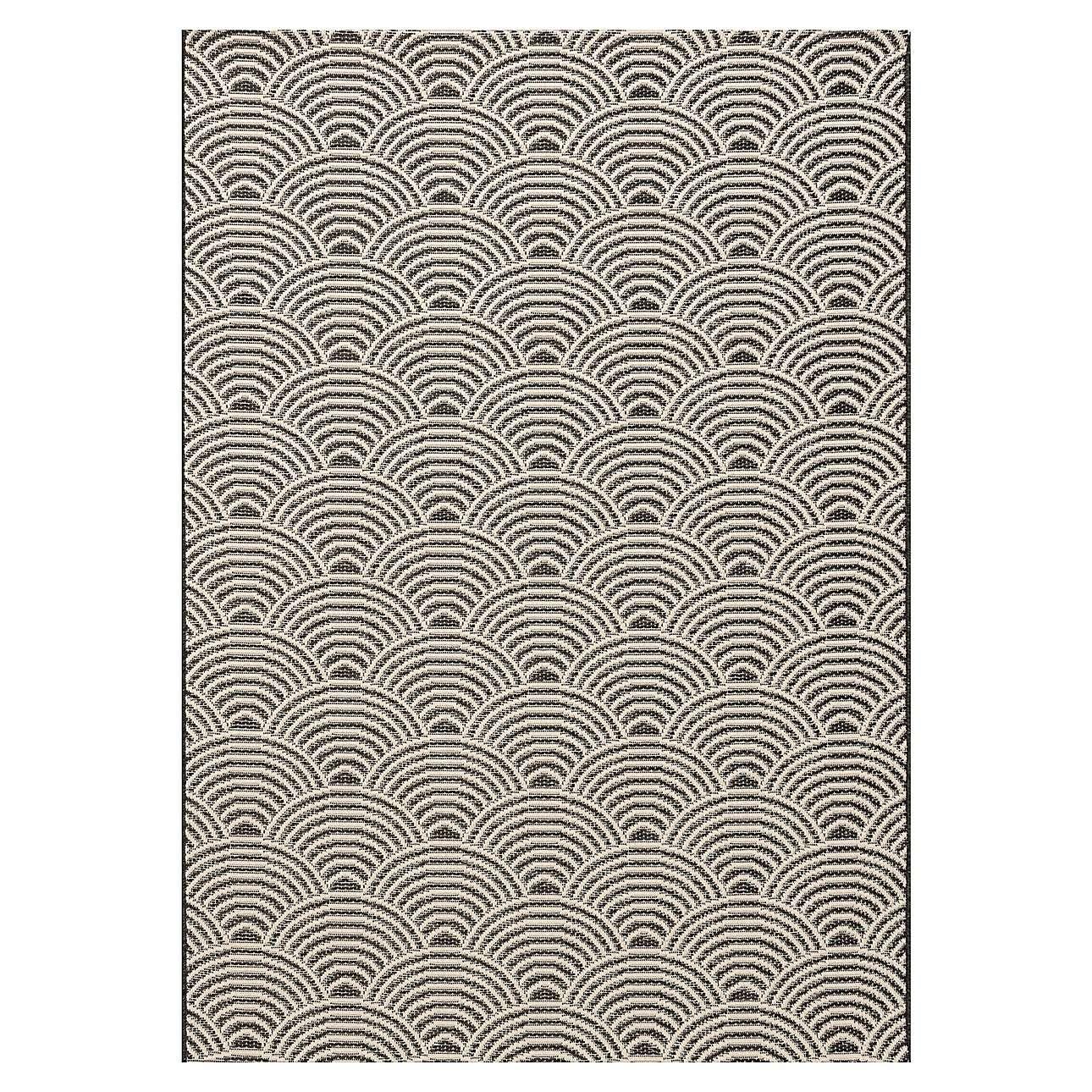 Koberec Jersey Home wool/black 120x170cm