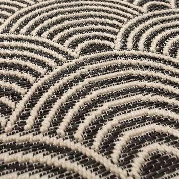 Dywan Jersey Home wool/black 120x170cm