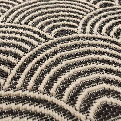 Jersey Home wool/black Rug 120x170cm