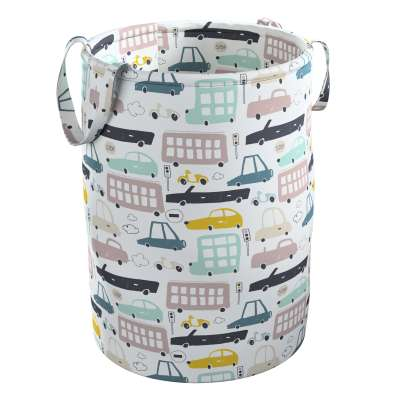 Tobi toy basket in collection Magic Collection, fabric: 500-02