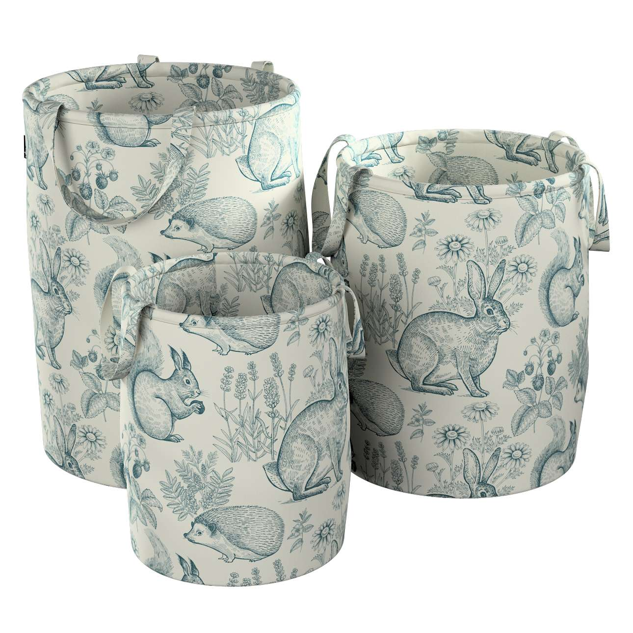 Tobi toy basket in collection Magic Collection, fabric: 500-04