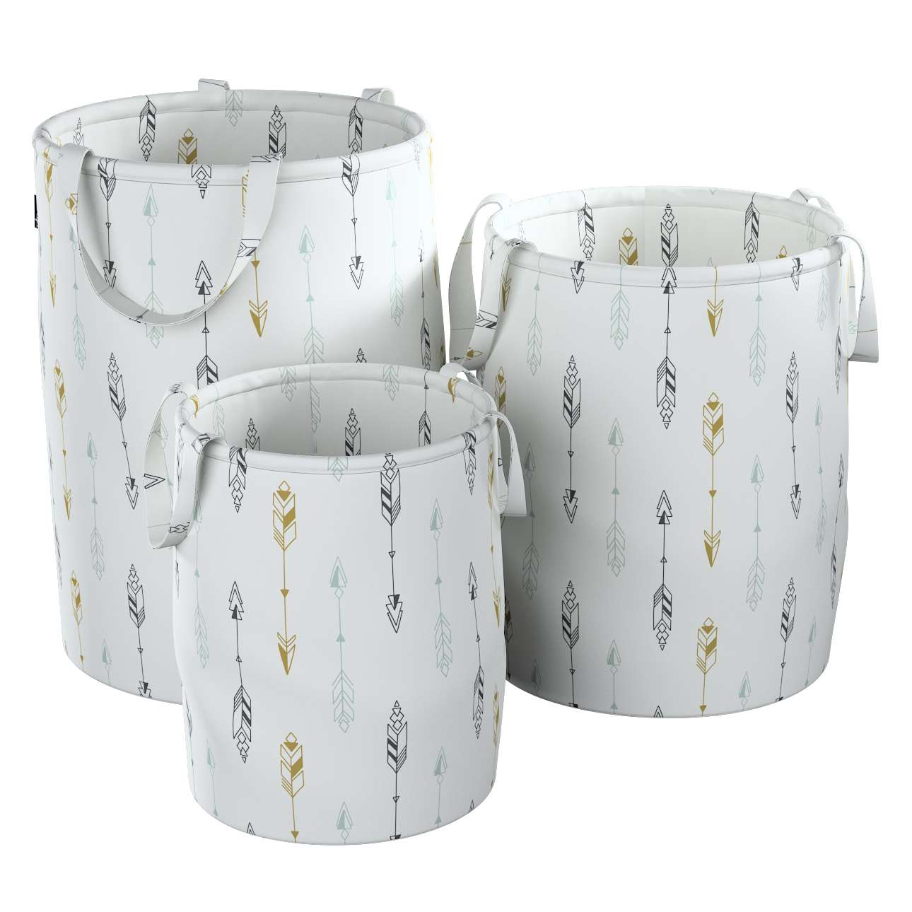 Tobi toy basket in collection Magic Collection, fabric: 500-07