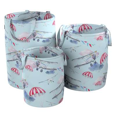Tobi toy basket in collection Magic Collection, fabric: 500-10