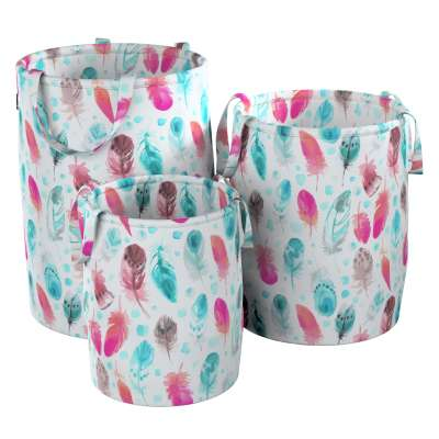 Tobi toy basket in collection Magic Collection, fabric: 500-17