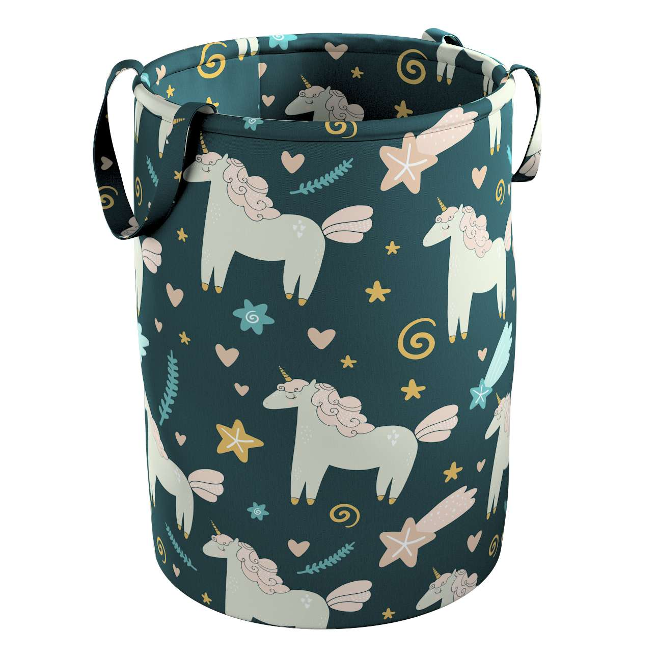 Tobi toy basket in collection Magic Collection, fabric: 500-43