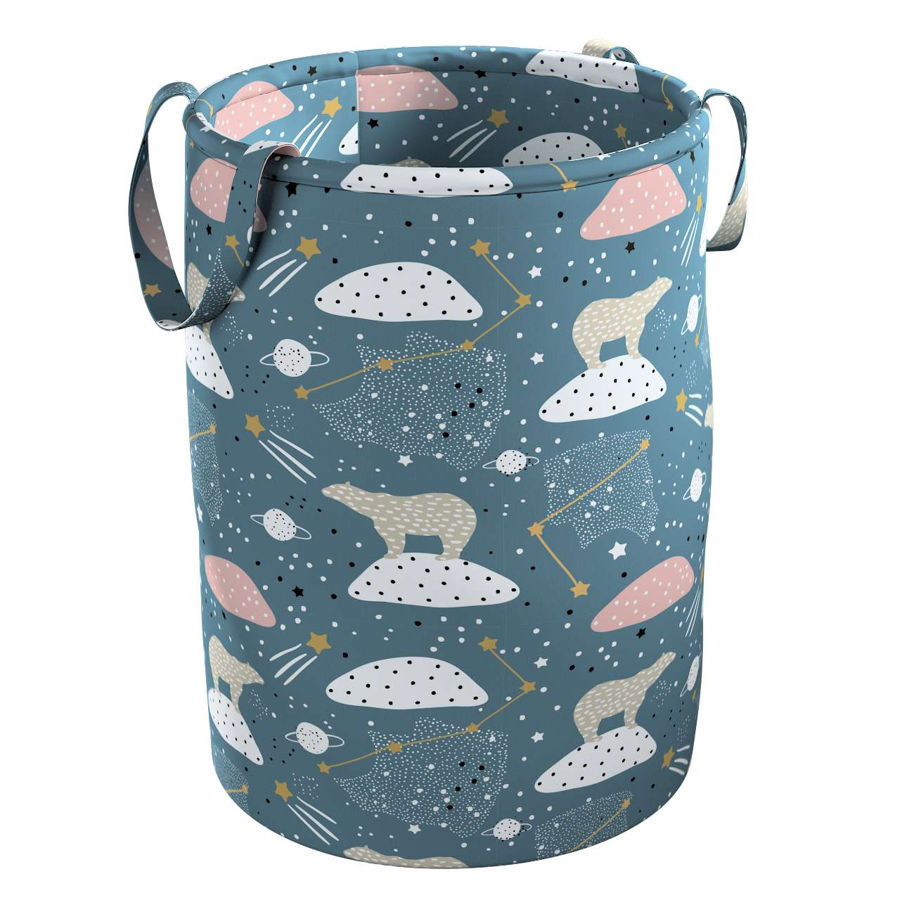 Tobi toy basket in collection Magic Collection, fabric: 500-45