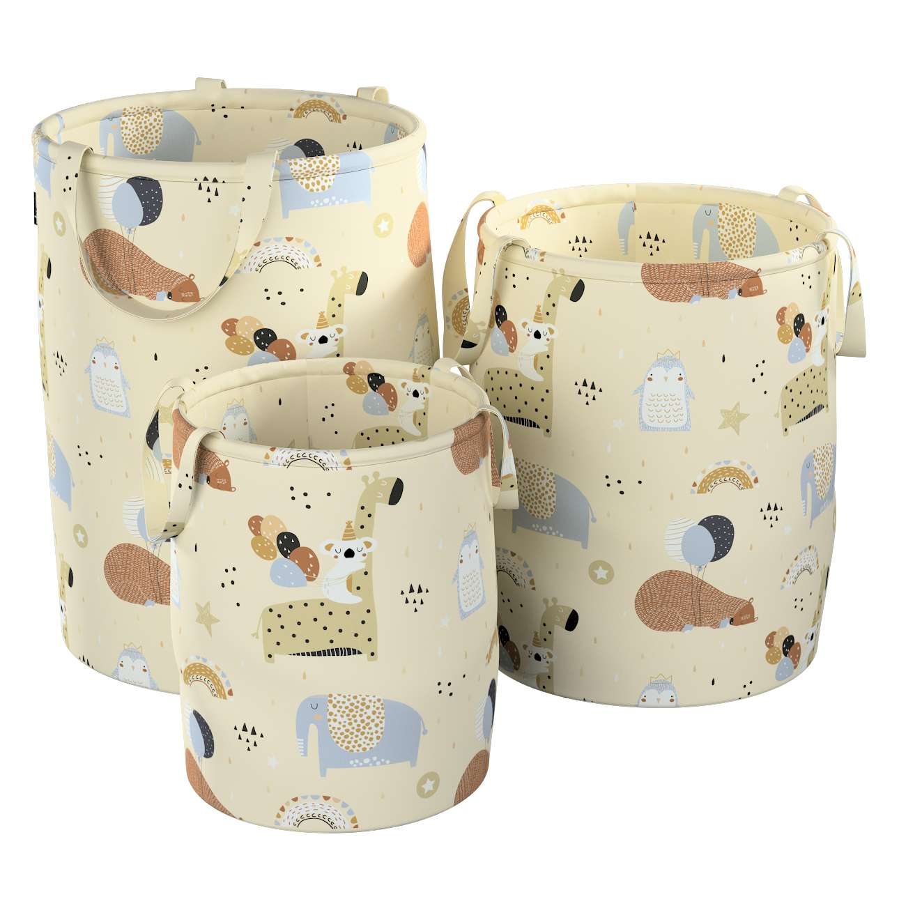 Tobi toy basket in collection Magic Collection, fabric: 500-46