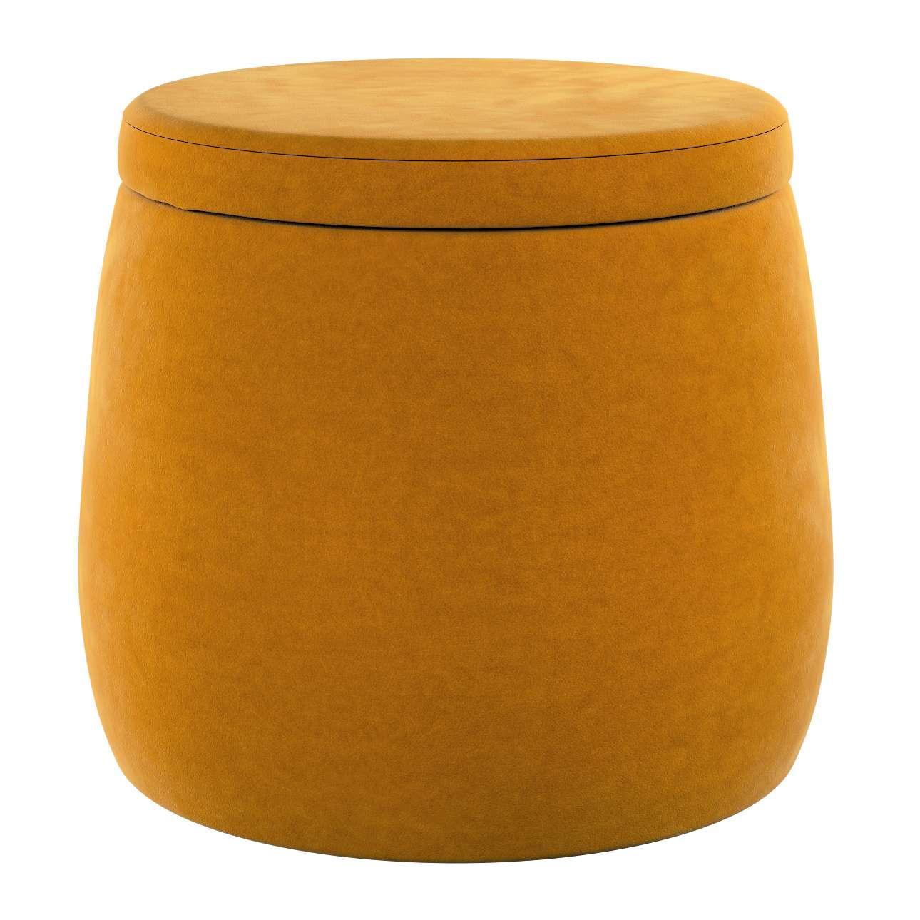 Pouf Candy Jar von der Kollektion Posh Velvet, Stoff: 704-23