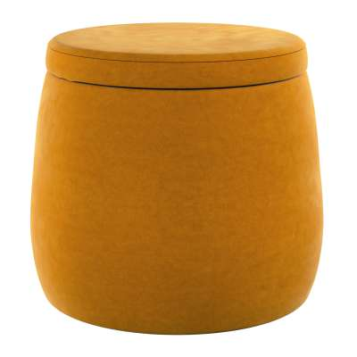 Pouf Candy Jar 704-23 honiggelb Kollektion Posh Velvet