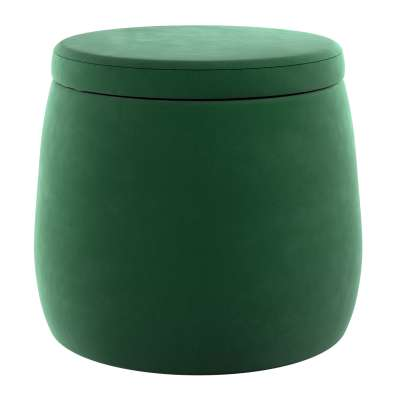 Candy Jar pouf 704-13 forest green Collection Posh Velvet