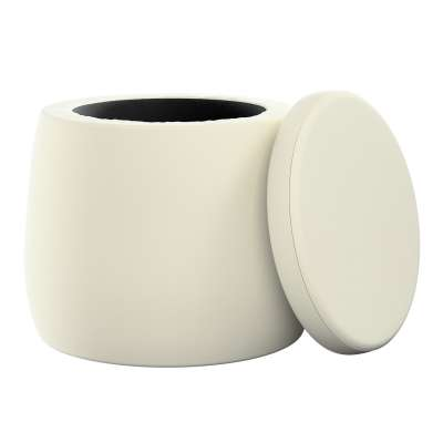 Puf Candy Jar 704-10 krémově bílá Kolekce Posh Velvet