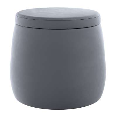 Puf Candy Jar 704-12 grafitově šedá Kolekce Posh Velvet
