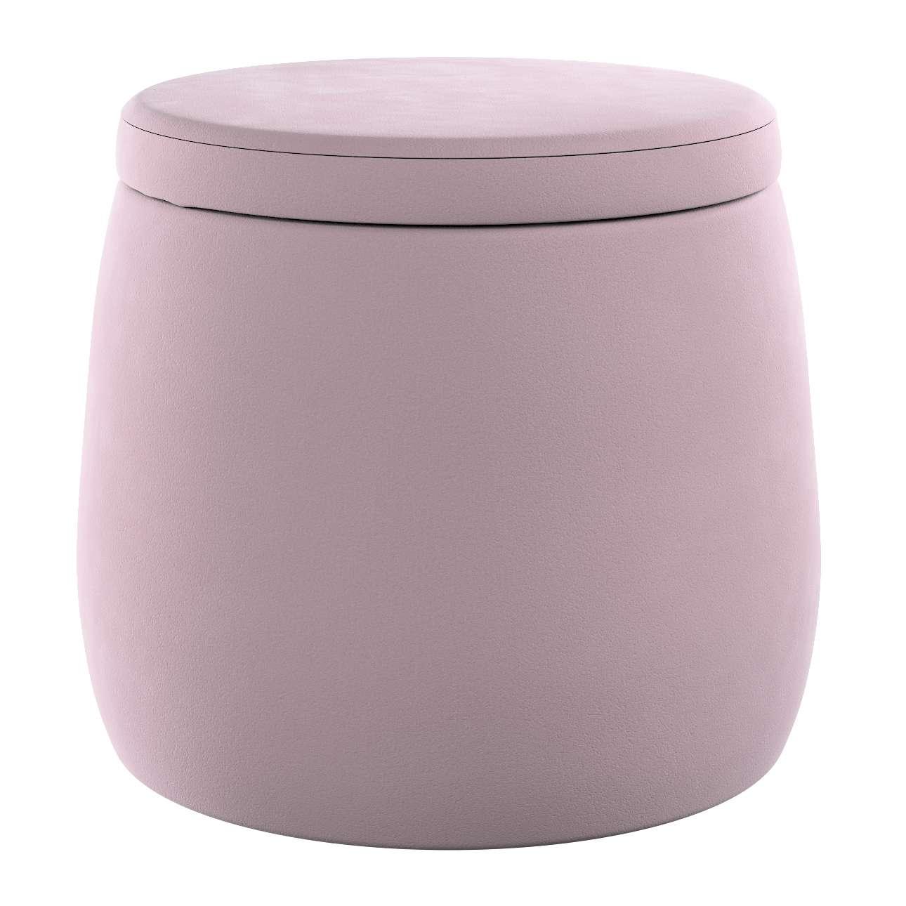 Pouf Candy Jar von der Kollektion Posh Velvet, Stoff: 704-14