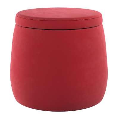 Pouf Candy Jar 704-15 rot Kollektion Posh Velvet