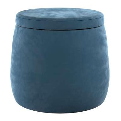 Puf Candy Jar 704-16 pruská modř Kolekce Posh Velvet
