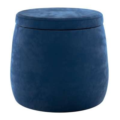 Candy Jar pouf 704-29 navy blue Collection Posh Velvet