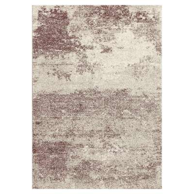 Softness silver/dusty lavender 120x170cm rug Rugs and Runners - Dekoria.co.uk
