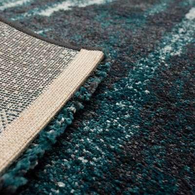 Teppich Softness near black/peacock blue 120x160