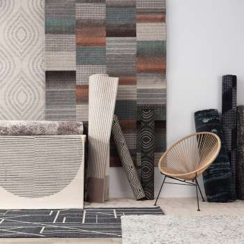Dywan Velvet wool/grey 160x230cm