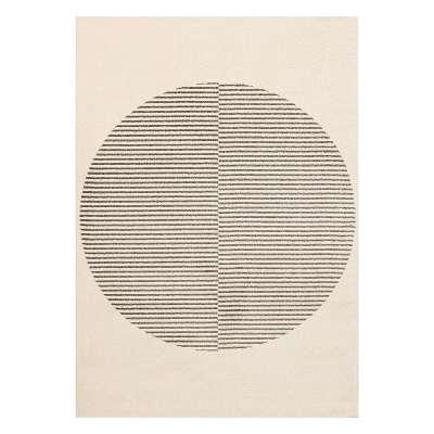 Tepich Sevilla paper white/grey 120x170cm Teppiche - Dekoria.de