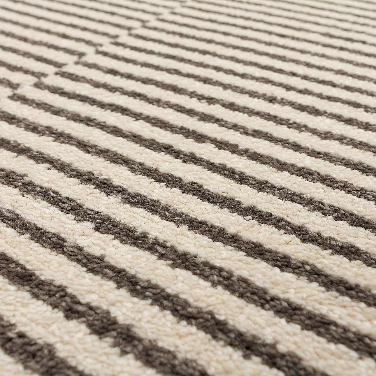Dywan Sevilla paper white/grey 120x170cm