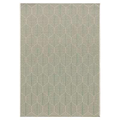 Teppich Cottage wool/spa blue 120x170cm